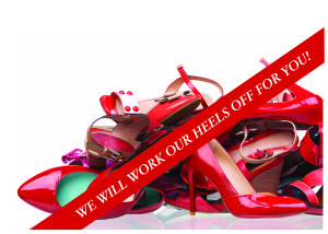 Heels with banner image