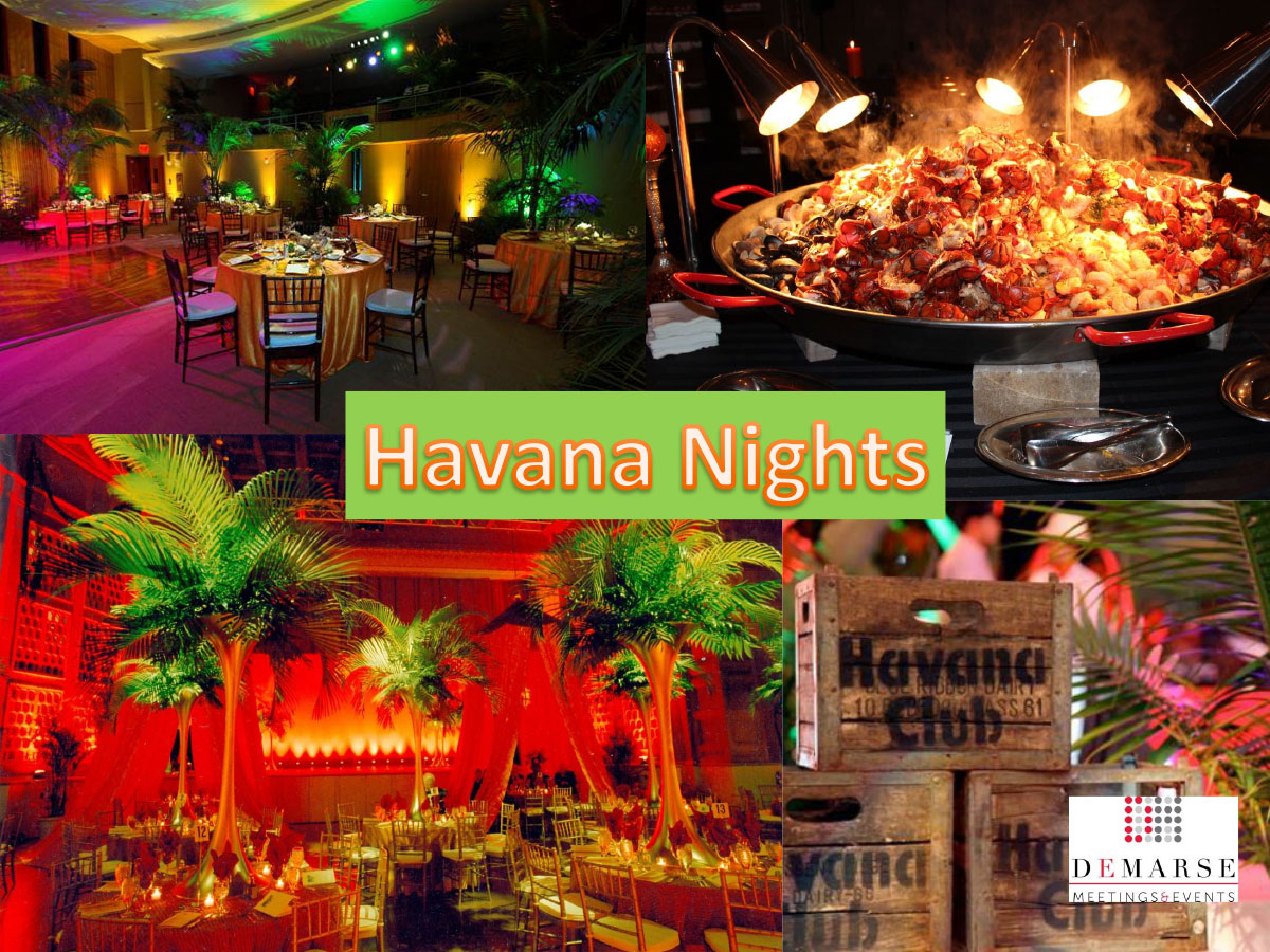 Cuban Home Decor Havana Nights Party Archives Demarse Meetings Amp Events