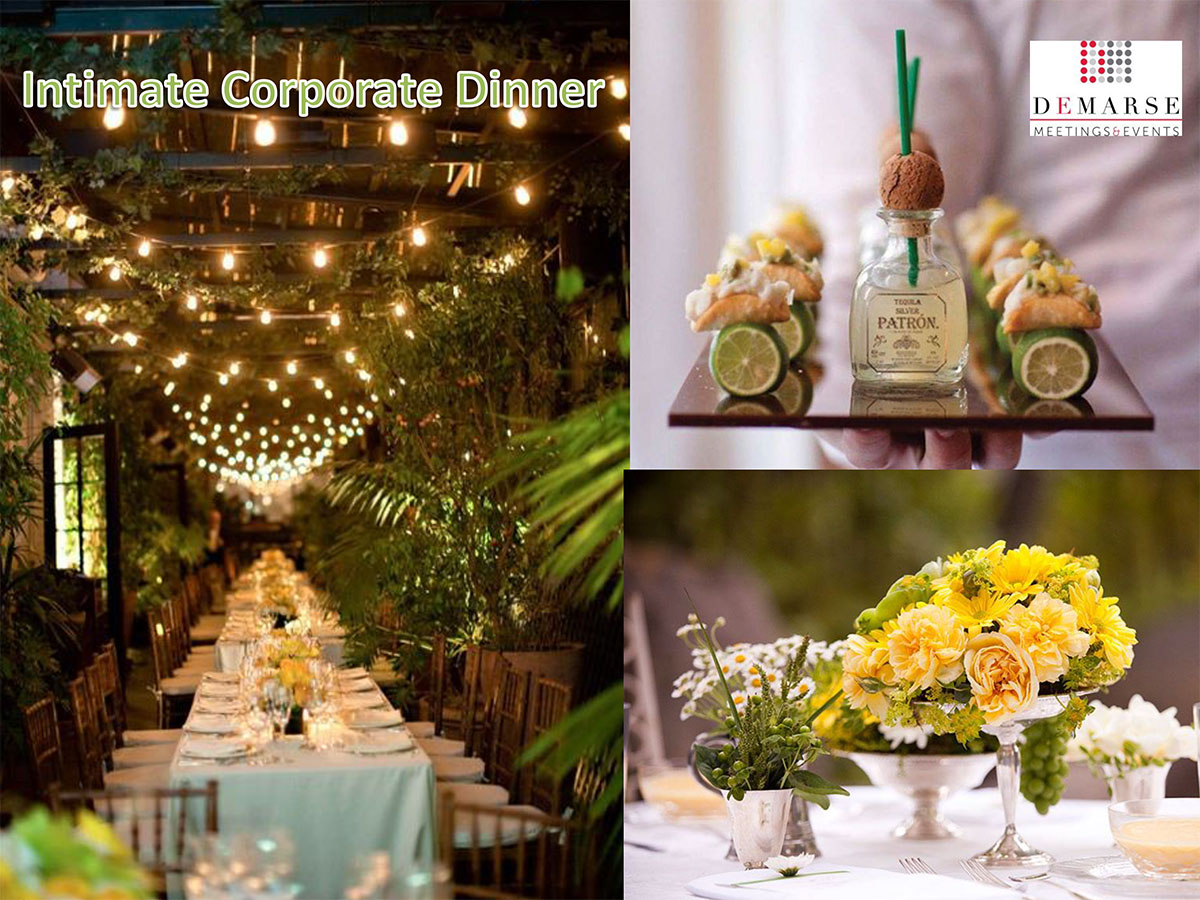 Intimate Corporate Dinner